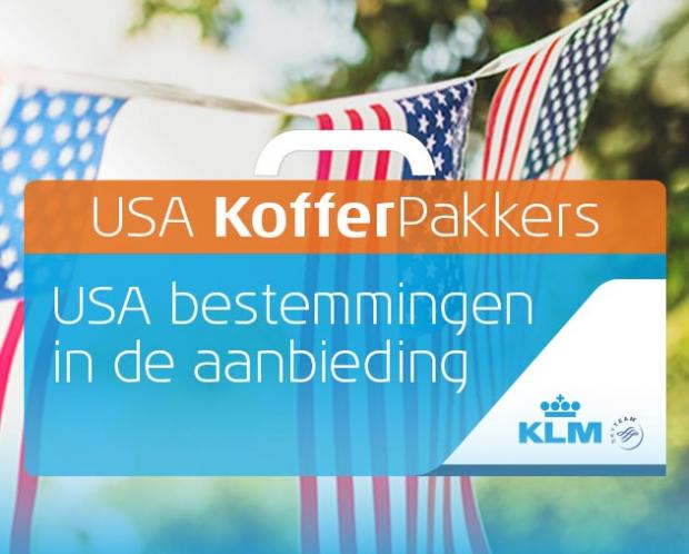 KLM USA Kofferpakkers