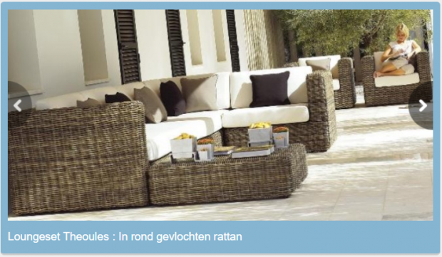 Luxe rotan loungeset